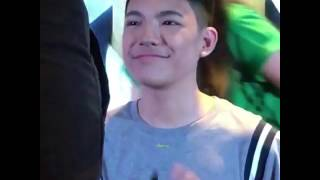 Ba't nagmamadali kayo?- Darren 💚 (04-02-2017)