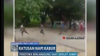 Video Amatir Detik-detik Ratusan Napi Kabur Dari Lapas di Pekanbaru Riau - BIM 05/05