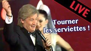 Tourner les serviettes - Patrick Sébastien - Live