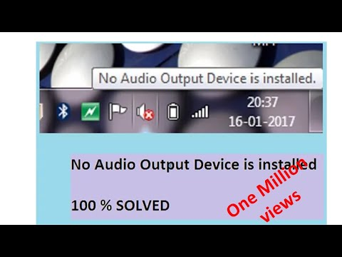 Xxx Mp4 How To Solve 39 No Audio Output Device Is Installed 39 Problem 100 Solved 3gp Sex