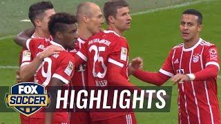 Bayern Munich vs. Mainz | 2017-18 Bundesliga Highlights