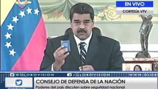Maduro: Lamento que Ramos Allup continúe en desacato y no quiera dialogar