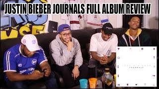 JUSTIN BIEBER JOURNALS FULL ALBUM REACTION/REVIEW