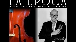 What is La Época? (Part 1) The Dancing Irishman interviews director Josue Joseph (salsa musicality)