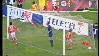 Benfica 2-3 Belenenses Época 1999/00