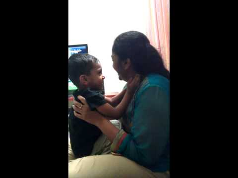 Neo Kissing Mum