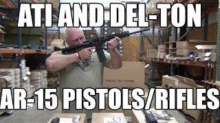 ATI And Del-Ton AR-15 Pistols and Rifles