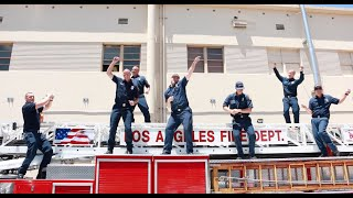 LAFD Firefighters DARE TO DANCE