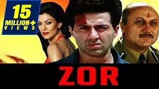 Zor Movie 1998 | Full Hindi Movie | Sunny Deol, Sushmita Sen, Milind Gunaji, Om Puri, Anupam Kher