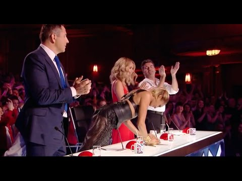 Judges Fight To Push The Golden Buzzer For This Act