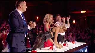 Judges Fight To Push The Golden Buzzer For This Act!