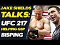 Jake Shields on Helping GSP Prepare for Bisping: His Takedown is
