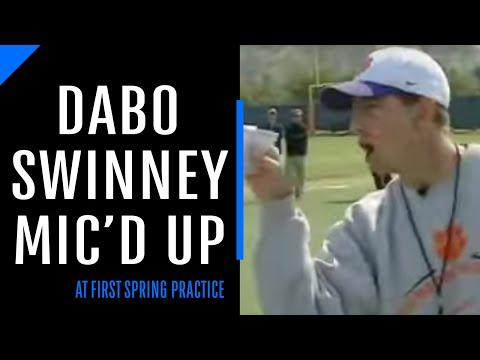 Clemson Coach Dabo Swinney Mic d Up