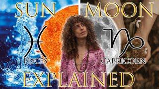 ☉ Sun in Pisces ☽ Moon in Capricorn