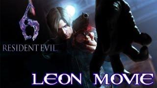 Resident Evil 6 'Leon All Cutscenes Movie' TRUE-HD QUALITY