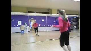 Easy Choreography to One Direction- What Makes You Beautiful- Flash Mob?  Teacher dance?