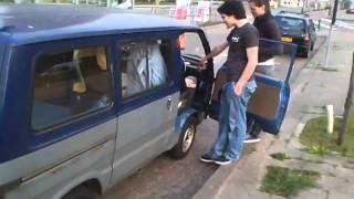 Het Pimp-my-ride project van Graham en Max