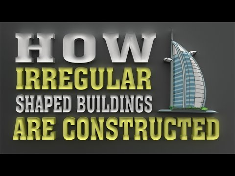 How irregular shaped buildings are constructed | Skyscraper science