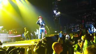 """Guns and Roses You could be mine London O2"""" 31 05 2012"""