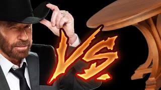 CHUCK NORRIS VS TAVOLINO: IL GIOCO