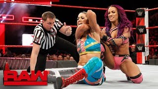 Sasha Banks vs. Bayley: Raw, Feb. 12, 2018
