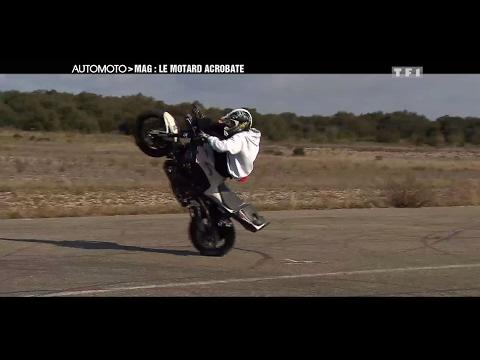 Souvenirs Le phénomène Jorian Ponomareff le motard acrobate