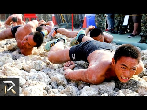 watch Most BRUTAL Military Drills in the World