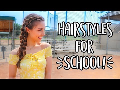 Xxx Mp4 Easy Heatless Hairstyles For Back To School 3gp Sex
