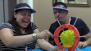 FINDING DORY! ANGRY BIRDS! SPLASH PRANK?! BOOM BOOM BALLOON || DINGLE HOPPERZ CHALLENGE