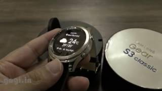 Samsung Gear S3 Classic Smartwatch unboxing and quick look