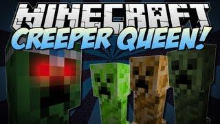 Minecraft | CREEPER QUEEN! (The Ultimate Creeper Boss!) | Mod Showcase [1.6.2]