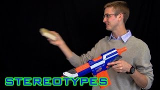 NERF STEREOTYPES   THE DAD
