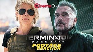 TERMINATOR: DARK FATE footage description/reaction (CinemaCon 2019)