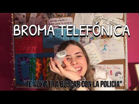 BROMA TELEFÓNICA A MI MAMA