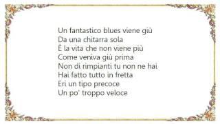 Vasco Rossi - Il  Blues Della Chitarra Sola Lyrics