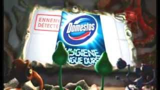 Publicité 2010 Domestos Hygiène Longue Durée