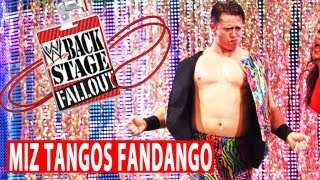Miz dances on the wild side - Backstage Fallout - August 27, 2013