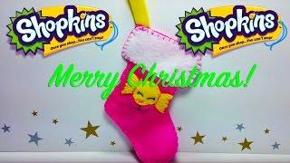 DIY: SHOPKINS STOCKING, for Christmas!