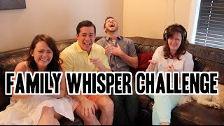 Santagato Family Whisper Challenge