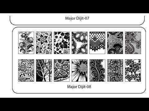 Major Dijit Swatches | Plates 7 & 8
