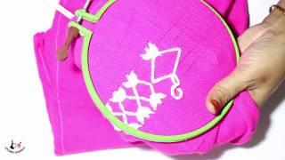 Hand Embroidery Design -  ( হাতের কাজ) Hater Kaj  [8]