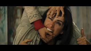 "Salma Hayek and Penelope Cruz fight scene from ""Bandidas"""