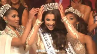 Deanna Johnson was crowned the new Miss Georgia USA 2017