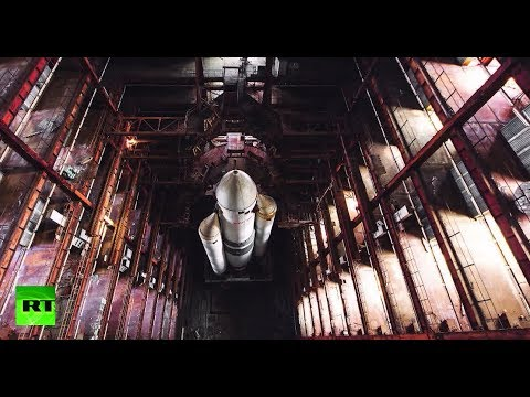 Xxx Mp4 Adventurers Sneak Into Old Cosmodrome Hangar To Make Stunning Discovery Of Space Shuttle Remains 3gp Sex