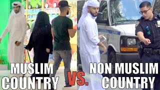Muslim Country VS. Non-Muslim Country (HONESTY EXPERIMENT)