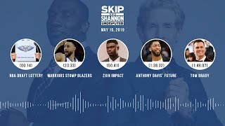 UNDISPUTED Audio Podcast (05.15.19) with Skip Bayless, Shannon Sharpe & Jenny Taft | UNDISPUTED