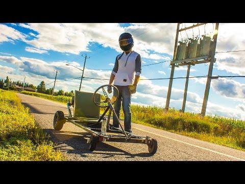 Homemade Go-Kart