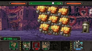 [HD]Metal slug defense. DUEL!  SUPER DEVIL(ERI) VS  HUGE BOSS  Deck!!! (1.41.1 ver)