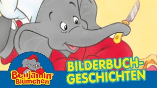Benjamin Blümchen als Koch BILDERBUCH GESCHICHTEN