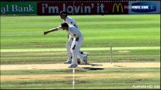 Ryan Harris 4 wickets vs New Zealand 2nd Test 2010 HD